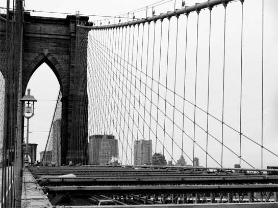 Brooklyn Bridge Wires